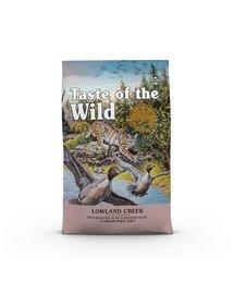 TASTE OF THE WILD Lowland Creek Getreidefrei mit Wachtel 2 kg