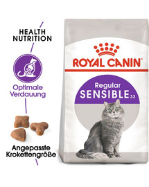 ROYAL CANIN SENSIBLE Trockenfutter für sensible Katzen 2 kg