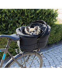 TRIXIE Fahrradkorb für schmale Gepäckträger 29x42x48cm