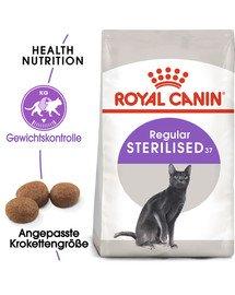 ROYAL CANIN STERILISED Trockenfutter für kastrierte Katzen 4 kg
