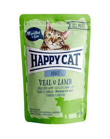 HAPPY CAT All Meat Adult Veal & Lamb (Kalb & Lamm)