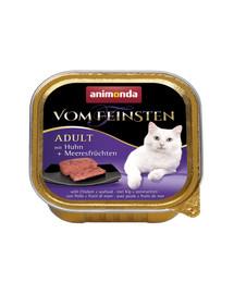 ANIMONDA Vom Feinsten Adult MIT HUHN + MEERESFRÜCHTEN 100 g