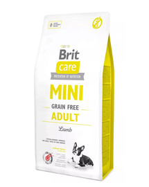 BRIT Care Grain Free Mini Adult Lamb 400 g