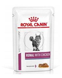 Royal Canin VET DIET Renal Huhn 85g x12
