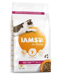 IAMS for Vitality Senior für ältere Katzen 3 kg