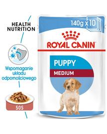 ROYAL CANIN Medium Puppy 10x140 g