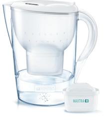 BRITA fill&enjoy Marella XL MAXTRA 3.5l  weiss + Tischwasserfilter