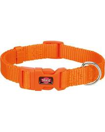 TRIXIE Premium Halsband S: 25–40 cm/15 mm papaya