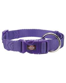 TRIXIE  Premium Halsband S: 25–40 cm/15 mm violett