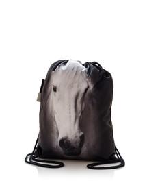 FERA Sportbeutel mit Aufdruck eines grauen Pferd