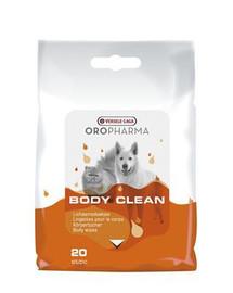 VERSELE-LAGA Oropharma Body Clean Feuchte Körperreinigungstücher 20 Stücke