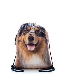 FERA Sportbeutel mit dem Bildaufdruck des Australischen Schäferhund