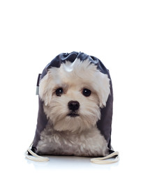 FERA Sportbeutel mit dem Bildaufdruck des Hund Malteser