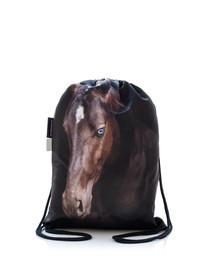 FERA Sportbeutel mit dem Bildaufdruck braunen Pferd