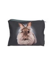 FERA Kosmetiktasche/Federtasche Stoff Kaninchen