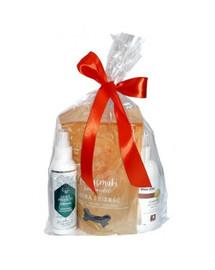OVER ZOO Geschenkset Shampoo + Spülung + Leckerlis für Shih Tzu Hunde