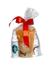 OVER ZOO Geschenkset Shampoo + Spülung + Leckerlis für Welpen