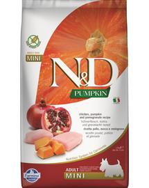 FARMINA N&D Pumpkin Huhn, Kürbis & Granatapfel Adult Mini 2,5 kg