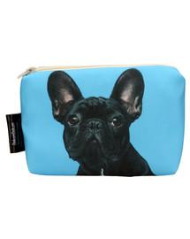 FERA Kosmetiktasche/Federtasche Stoff Französische Bulldogge