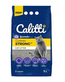 CALITTI Strong Bentonit Katzenstreu Lavendel 5 l