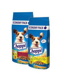 CHAPPI MIX - mit Geflügel und Gemüse und mit Rindfleisch, Geflügel und Gemüse 27kg (2x13,5kg)