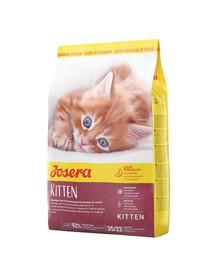 JOSERA Kitten 10 kg Trockenfutter für wachsende Katzen sowie für tragende und säugende Katzen + 2 Frischebeutel GRATIS