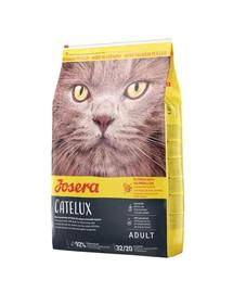 JOSERA Cat Catelux 10 kg + 2 Frischebeutel GRATIS