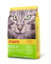 JOSERA SensiCat für ernährungssensible Katzen 10 kg + 2 Frischebeutel GRATIS