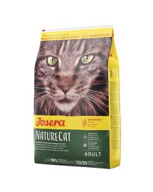 JOSERA Nature Cat Getreidefrei 10 kg + 2 Frischebeutel GRATIS