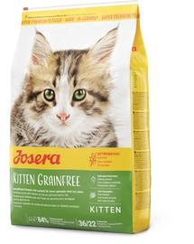 JOSERA Kitten GrainFree Für heranwachsende Katzen und Katzen-Mütter 10 kg + 2 Frischebeutel GRATIS