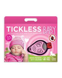 TICKLESS Baby – Rosa Zeckenschutz für Kinder