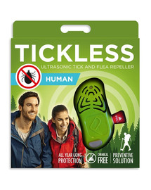 TICKLESS Human – Grün Ultraschallgerät gegen Zecken für Erwachsene