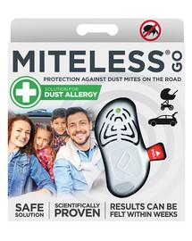 TICKLESS MITELESS Go Ultraschallgerät gegen Hausstaubmilben für unterwegs