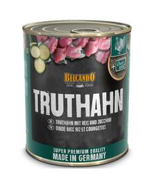 BELCANDO Truthahn mit Reis & Zucchini 800 g