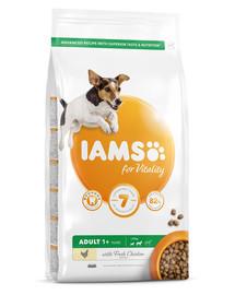 IAMS for Vitality für Hunde kleiner und mittelgroßer Rassen mit frischem Huhn 5 kg