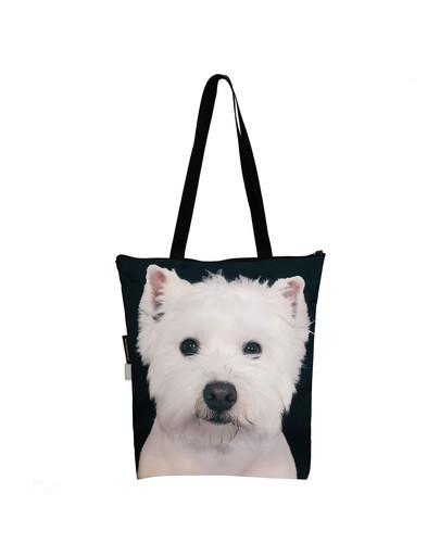 FERA Klassische Einkaufstasche mit dem West Highland White Terrier